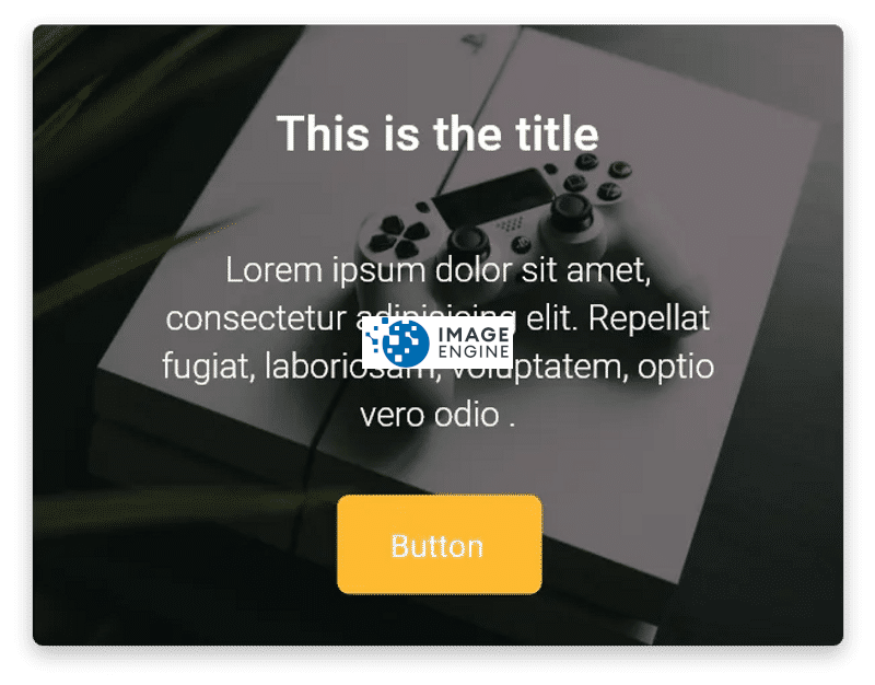Flutter card Design with image and text example